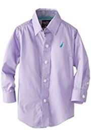Nautica Infant Button Down - Front cropped