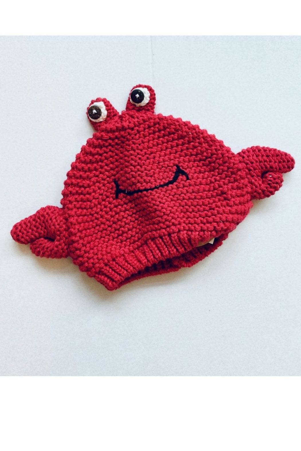 Mud Pie Infant Crab Hat - Front Cropped Image