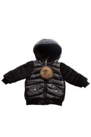 | Infants' and Toddlers Quilted Winter Jacket | Goxip