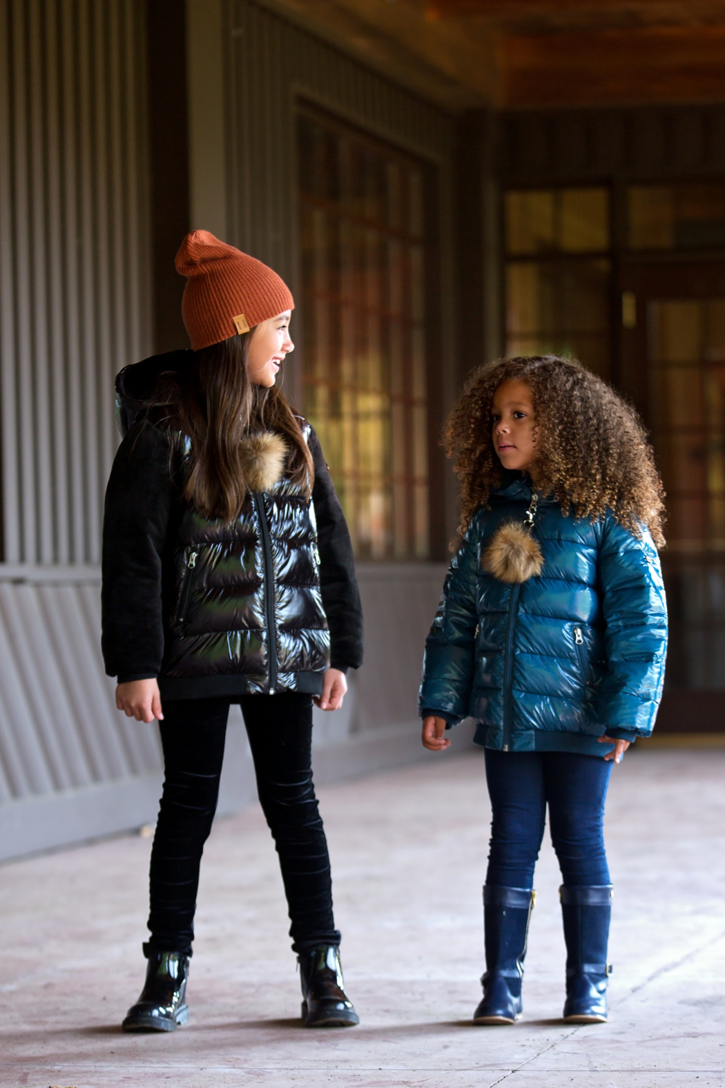 COZY COOP Infants' and Toddlers Quilted Winter Jacket - Front Full Image