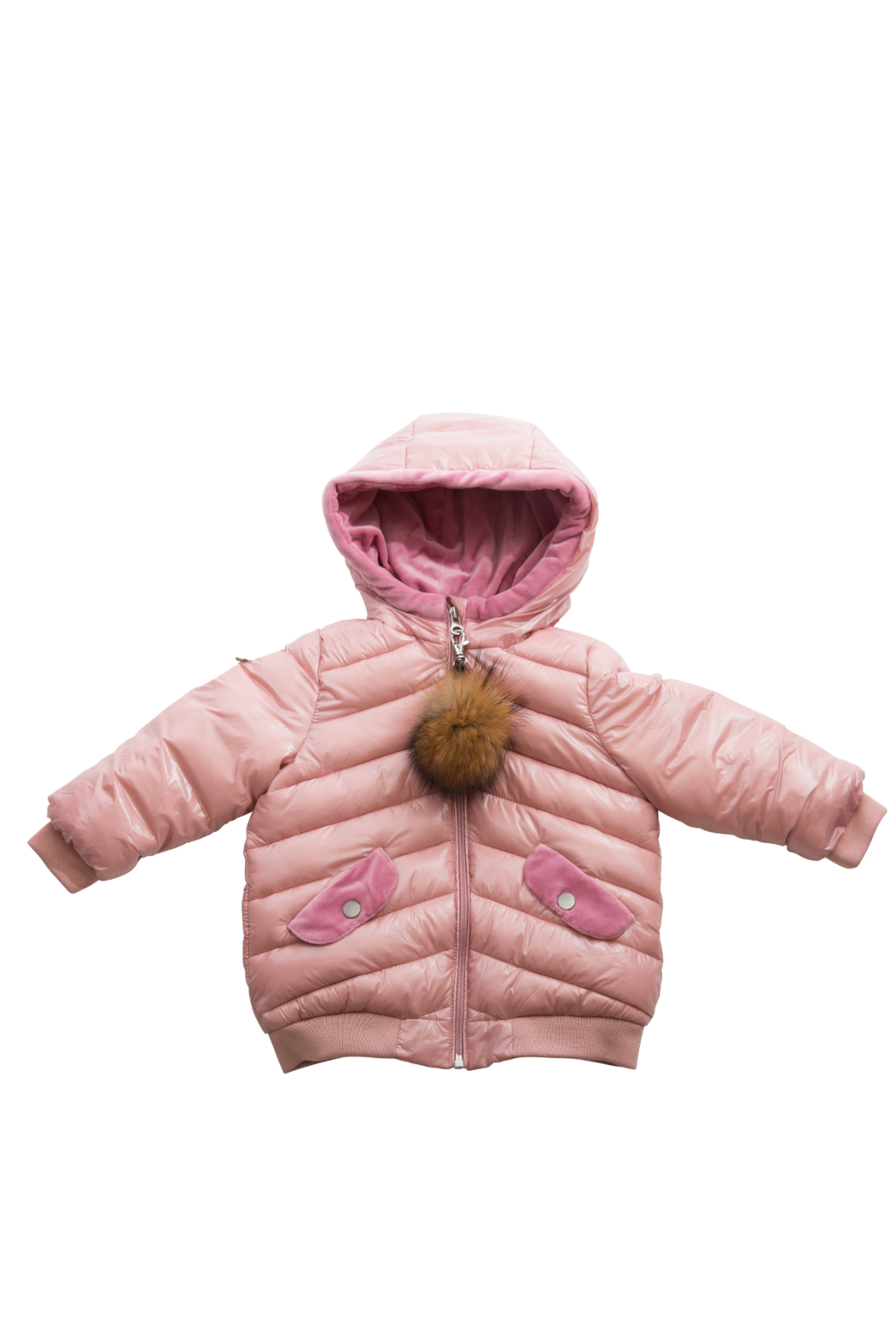 COZY COOP Infants' and Toddlers Quilted Winter Jacket - Front Cropped Image
