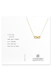 Dogeared Infinite Love Gold - Product Mini Image