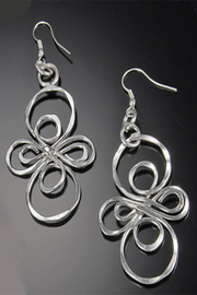 Anju Handcrafted Artisan Jewelry Infinity Earring - Front cropped