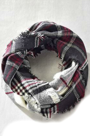 Gift Craft Infinity Plaid Scarf - Product Mini Image