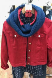 Avenue A Infinity Scarf - Front cropped