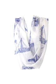 Diane's Accessories Infinity Scarf Sailboats - Product Mini Image