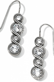 Brighton Infinity Sparkle French Wire Earrings JA1831 1136 - Front cropped