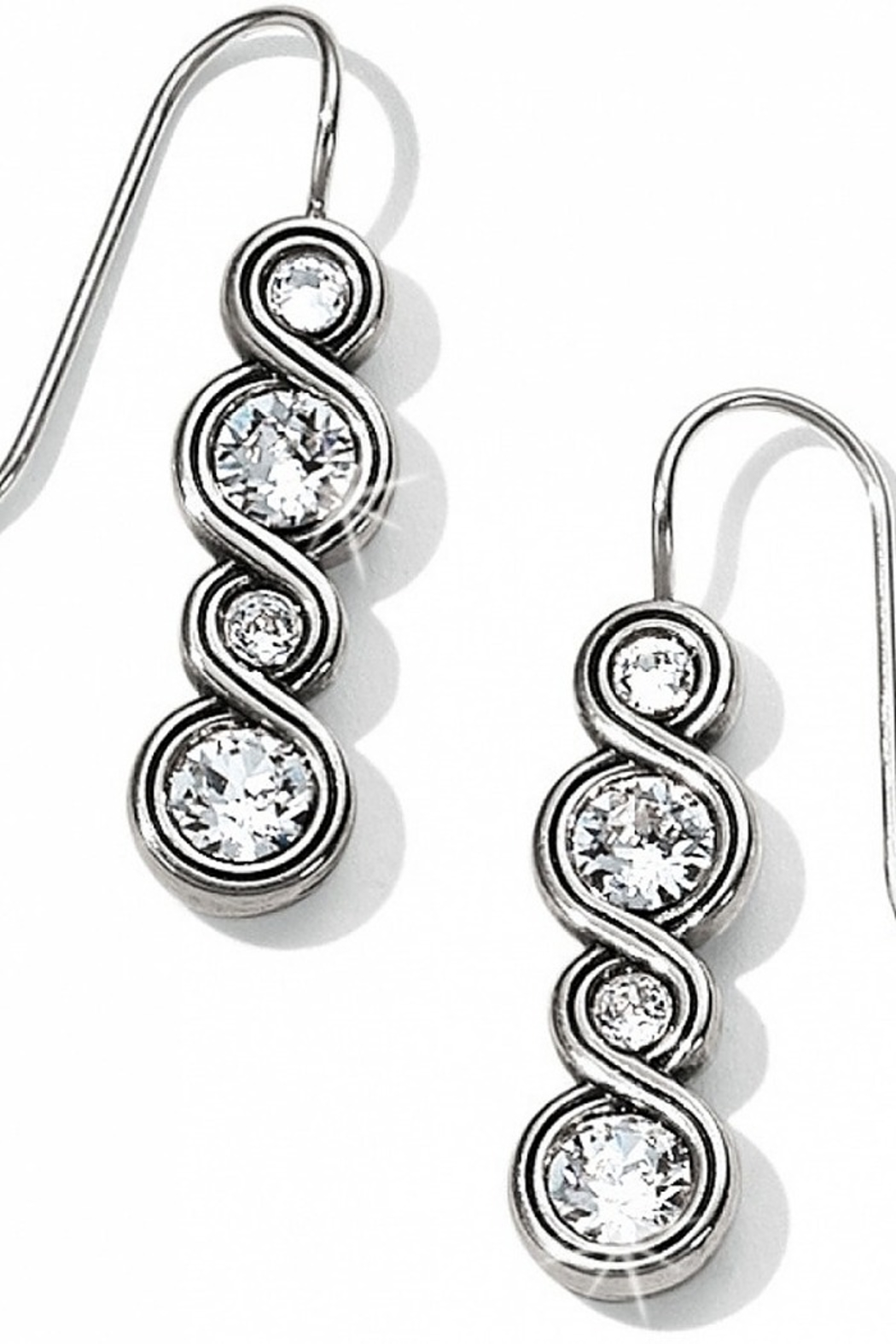 Brighton Infinity Sparkle French Wire Earrings JA1831 1136 - Main Image
