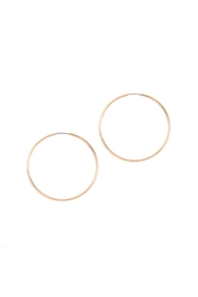 Riah Fashion Infinity-Wire Hoop Earrings - Product Mini Image