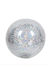 Sunny Life Inflatable Glitter Beach Ball - Product Mini Image