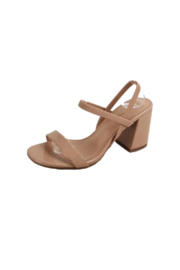 Bamboo Inflate-05 Block Heel - Front cropped