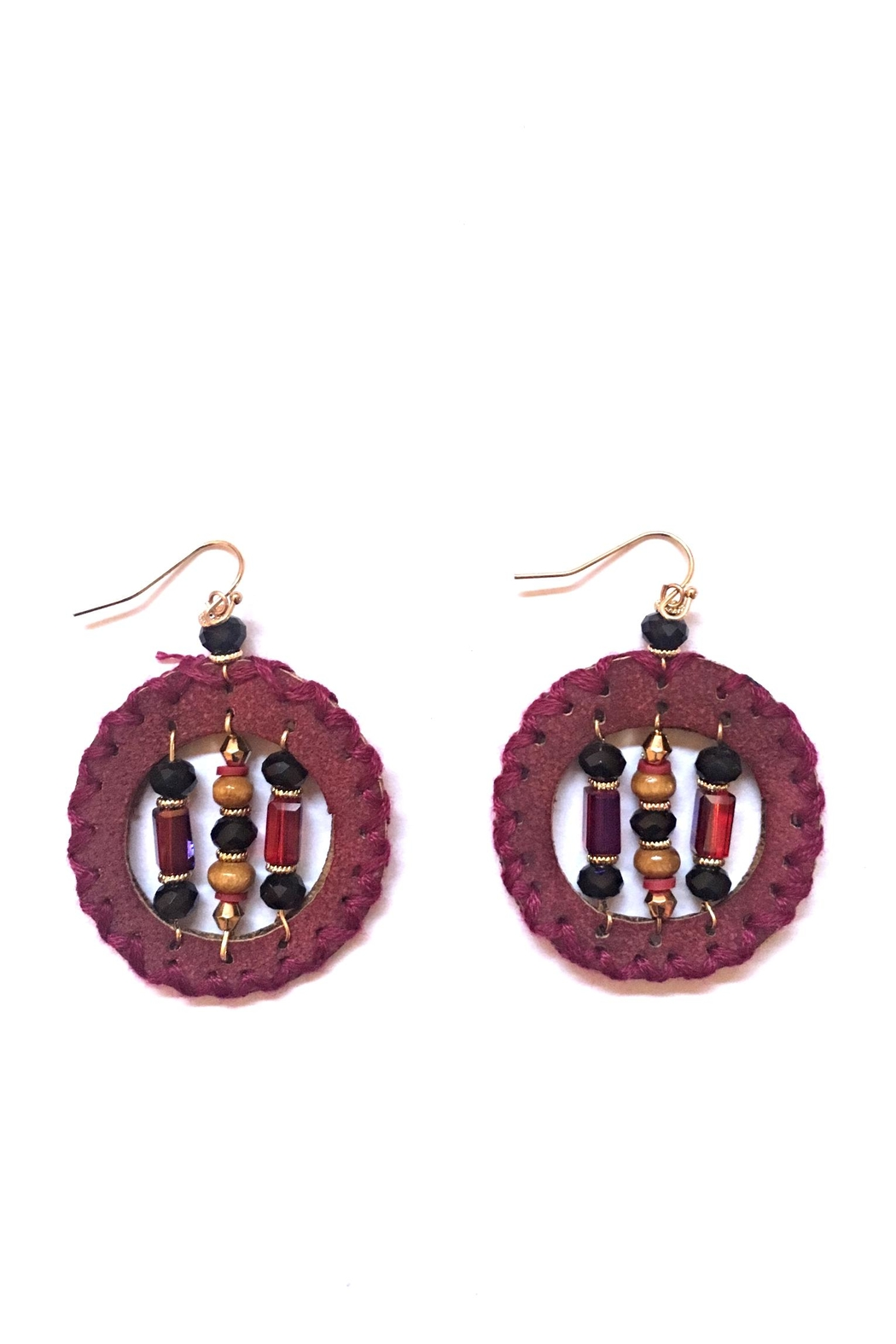 Influence Round Earrings - Main Image
