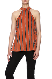 Influence Stripe Halter Top - Product Mini Image