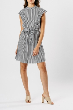 Shoptiques Product: Stripe Ruffle Dress