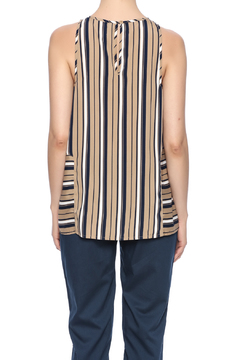 Influence Striped Sleeveless Top - Alternate List Image