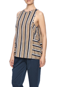 Influence Striped Sleeveless Top - Product List Image
