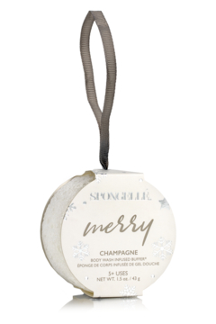 Spongelle INFUSED BODY BUFFER CHAMPAGNE HOLIDAY - Product List Image
