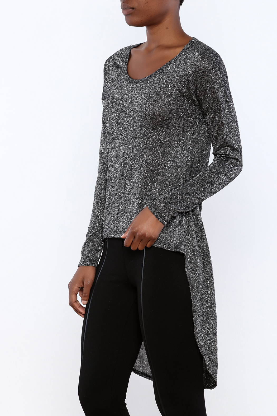 ING Shimmer Sweater - Front Cropped Image