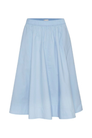 Part Two Inga Brunnera Blue Skirt - Front cropped