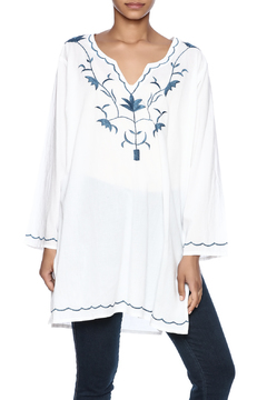 Shoptiques Product: Embroidery White Blouse