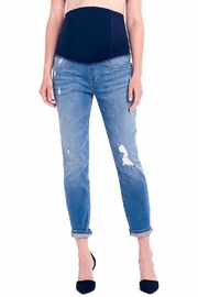 ingrid&isabel Full-Panel Boyfriend Jeans - Product Mini Image