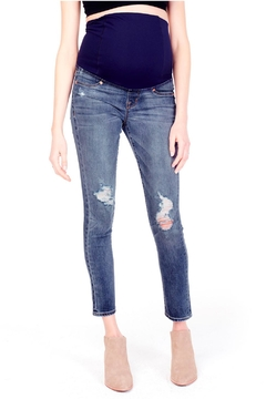 Shoptiques Product: Distressed Maternity Jeans