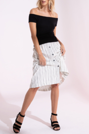 Black Swan Ingrid Skirt - Back cropped
