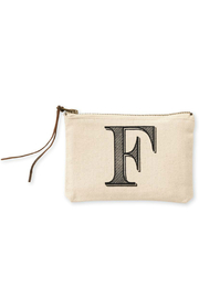 Mud Pie Initial Canvas Bag - Other