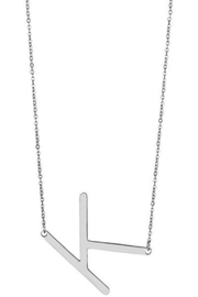 Girly Initial Pendant Necklace - Other