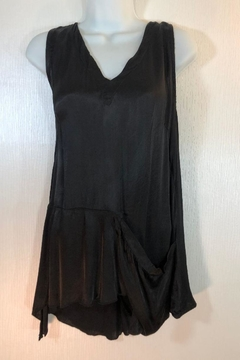 Shoptiques Product: Black Satin Tunic