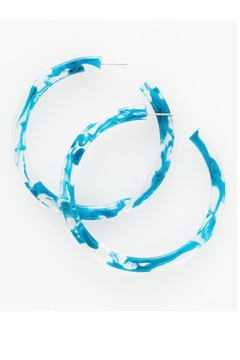 Ink + Alloy Marble Hoop - Product List Image