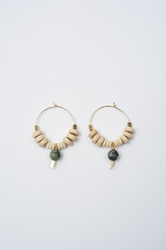 Shoptiques Product: African Turquoise Hoops