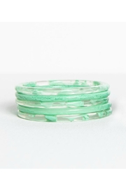 Ink + Alloy Marbled Bangle Set - Product Mini Image