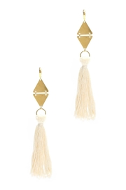 Ink + Alloy Nina Tassel Earrings - Product Mini Image
