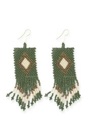 Ink + Alloy Seed Bead Earrings - Product Mini Image