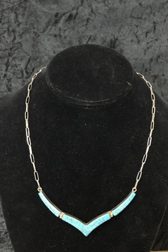 Jan Jachimek Inlaid Turquoise Necklace - Product List Image