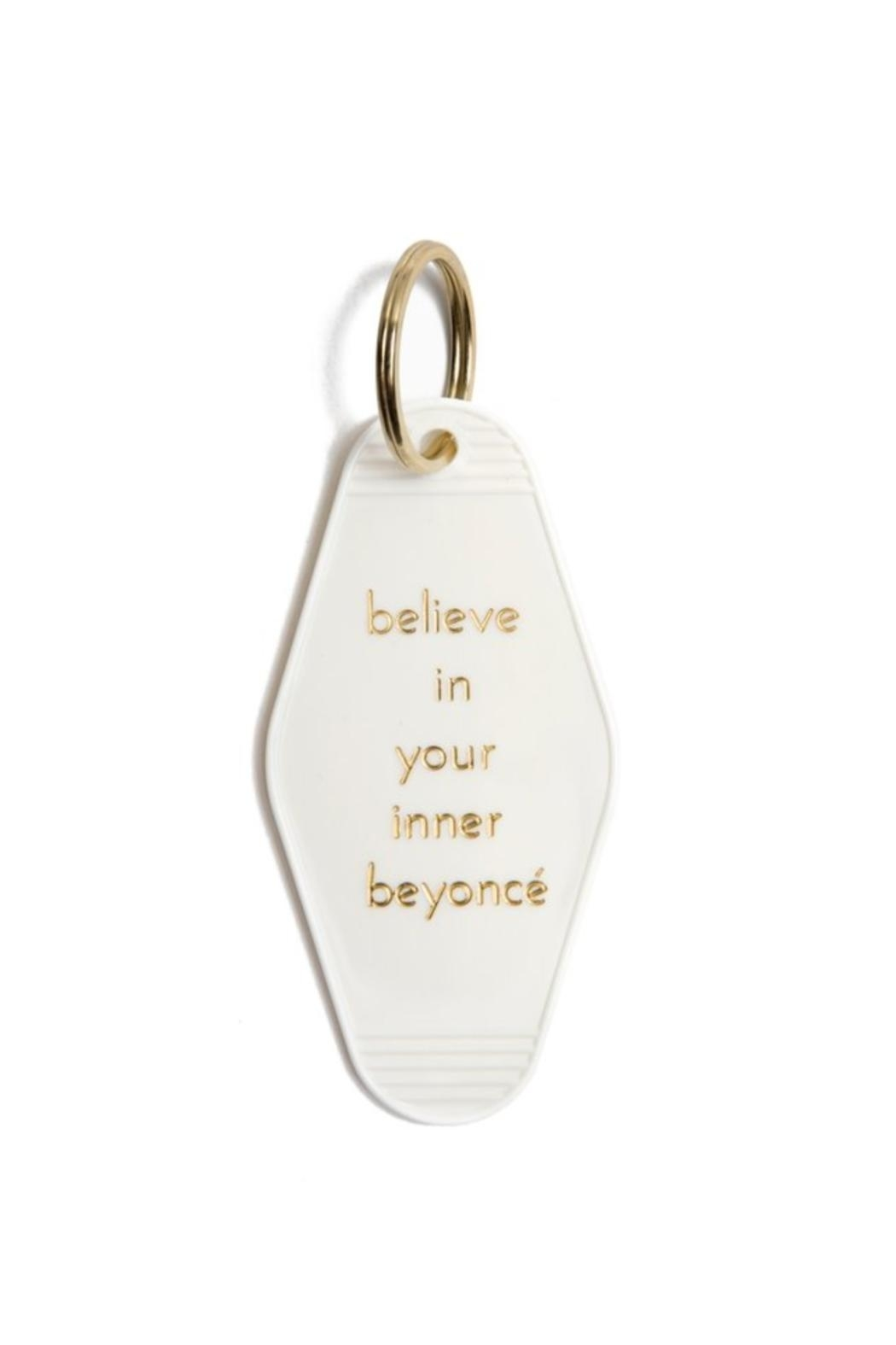 He Said, She Said Inner Beyonce Keychain - Front Cropped Image