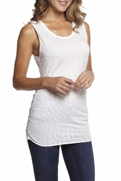 Shoptiques Product: Gathered Side Tank Top