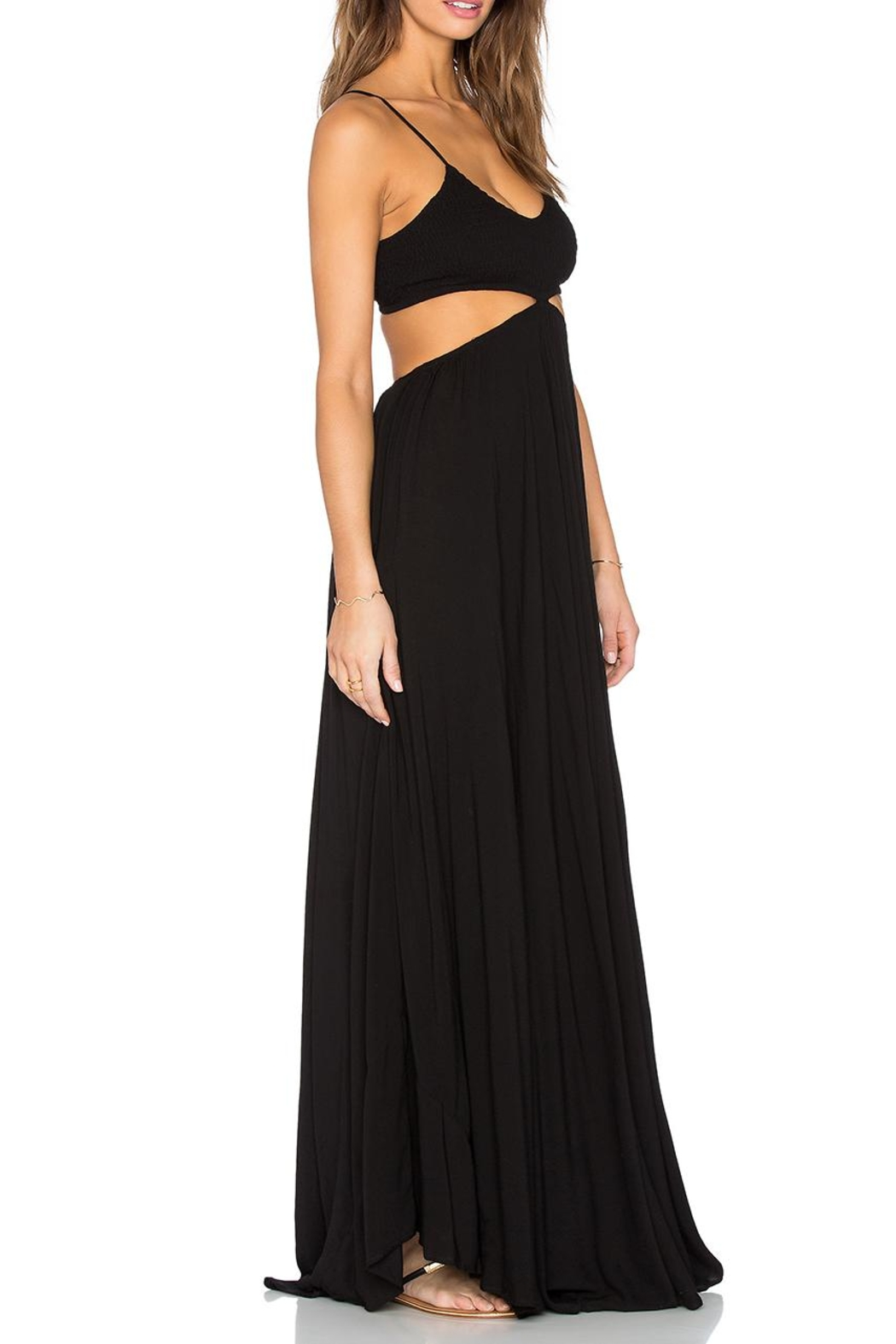 Indah Innocence Cutout Dress - Front Cropped Image