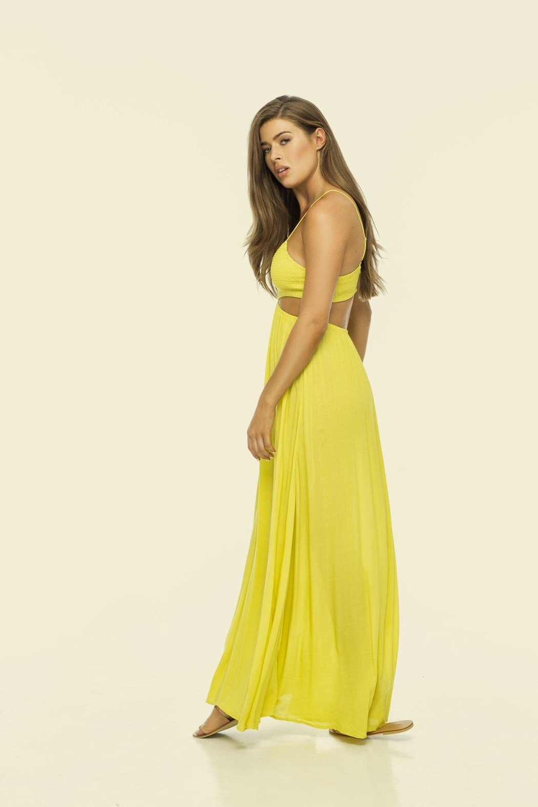 Indah Innocence Cutout Dress - Side Cropped Image