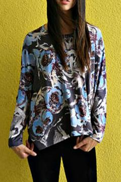 Shoptiques Product: Abstract Floral Top
