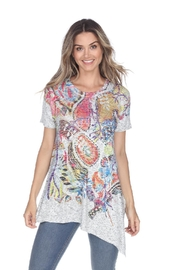 Inoah Azaleas Knit Tunic - Product Mini Image