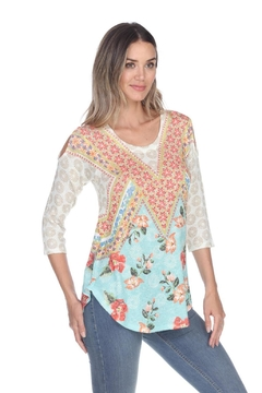 Inoah Boho Knit Top - Alternate List Image