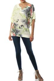 Inoah Botanical Knit Top - Front cropped