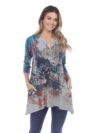 Inoah Colorful Knit Tunic - Front cropped