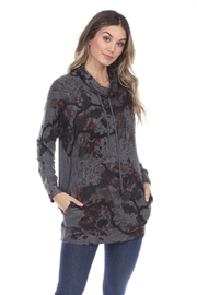 Inoah Cowl Knit Tunic - Front cropped