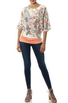Inoah Floral Knit Top - Product List Image