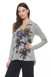 Inoah Floral Knit Top - Product Mini Image
