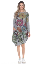 Inoah Floral Lantern Dress - Product Mini Image