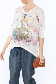 Inoah Garden Boxy Sweater - Product Mini Image